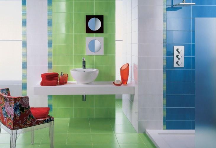 baie verde alb albastru