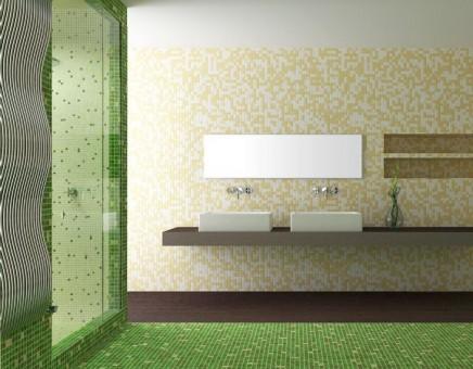 verde crem mozaic