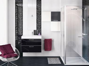 baie alb negru decoruri