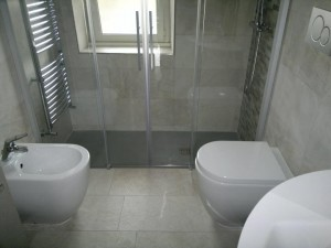 baie moderna mica