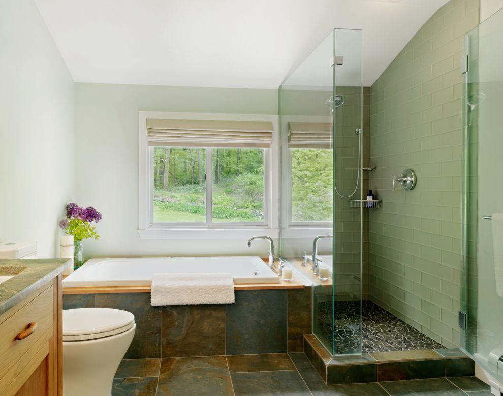 baie moderna verde