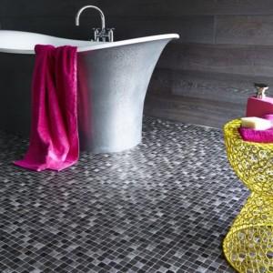 baie moderna cu mozaic