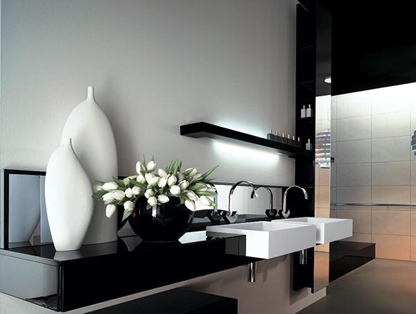lux alb negru