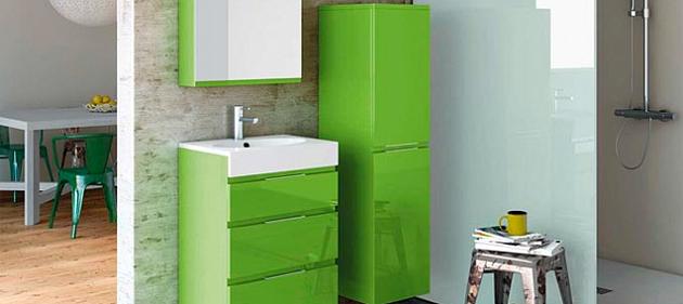 verde alb baie