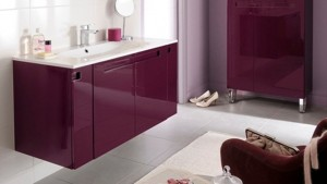 decor faianta violet