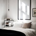 Dormitoare alb negru 2