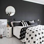 Dormitoare alb negru 3