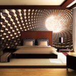 Tapet 3D dormitor 3