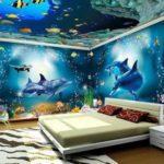 Tapet 3D dormitor 4
