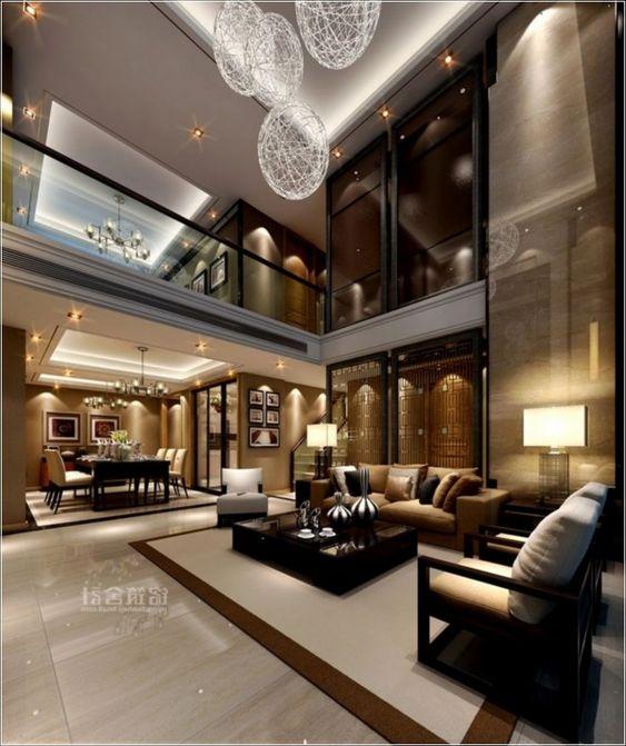 Modern Luxury Home Interior Design Living Rooms: Amenajare Living Casa : Idei, Imagini