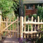 Garduri din lemn rustice 11