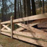 Garduri din lemn rustice 13