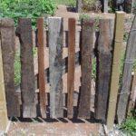 Garduri din lemn rustice 2