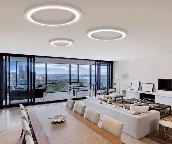 Living Room Lighting Designs: Lustre Moderne Living : Modele, Poze