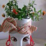 Ghivece de flori din pet uri 6